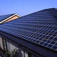 太陽光発電の屋根