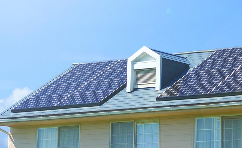 太陽光発電の外観