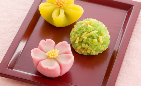 鶴屋吉信の生菓子