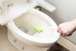 トイレ掃除を簡単に
