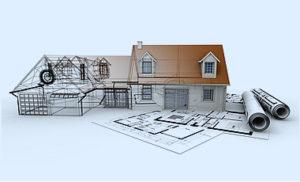 モデルハウスと設計図
