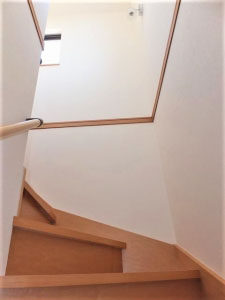 階段と天井